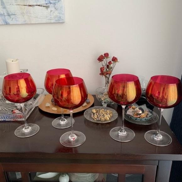 Vintage 🍷 Red Wine Glasses